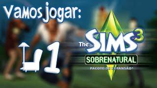 The Sims 3 Supernatural - Roupas e Explicação Rápida Ep.1