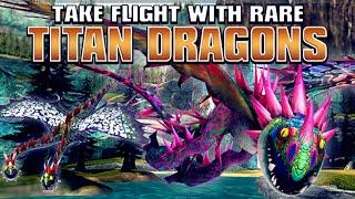 TITAN DRAGONS AT SCHOOL OF DRAGONS!