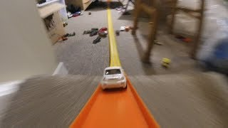 Video Toy Cars Zoom down Hot Wheels Track Set KIDS FUN! download MP3, 3GP, MP4, WEBM, AVI, FLV Oktober 2018