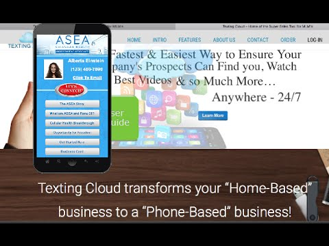 ASEA - Create Your Mobile Business Card