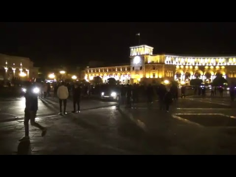 LIVE. Ցույցեր Սերժ Սարգսյանի վարչապետության դեմ․ օր 7-րդ