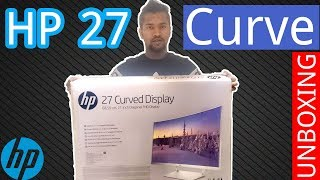 HP 27 Curved Display Unboxing & Review !! Bangla Unboxing