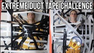 EXTREME DUCT TAPE CHALLENGE w/ Edwin Burgos