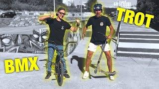 PRO TROTTINETTE VS PRO BMX ! (DÉFIS)