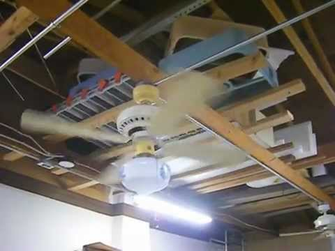 for image in putting with hunter ceiling fan blue of mesmerizing ideas exhaust best garage fans