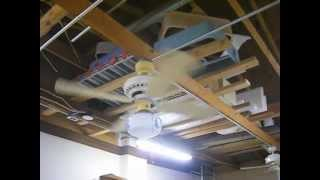 Plastic Emerson Ceiling Fans in my Garage