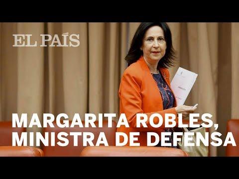 MARGARITA ROBLES | Nueva ministra de Defensa en el Gobierno de Pedro Sánchez | España