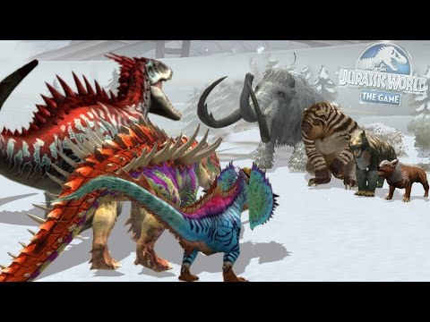 INDOMINUS REX - JURASSIC Vs CENOZOIC - BLOOD WARS || Jurassic World The Game