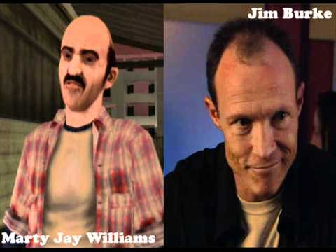 GTA VCS - Voice actors behind the characters - YouTube