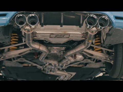 awe bmw f8x m3 m4 resonated track edition exhaust