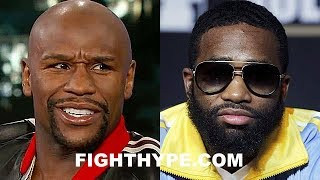 MAYWEATHER RESPONDS TO ADRIEN BRONER OUTBURSTS; CHECKS HIM ON WHO HAD HIS BACK WHEN OTHERS DIDN'T