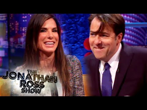 Sandra Bullock Rapping - The Jonathan Ross Show