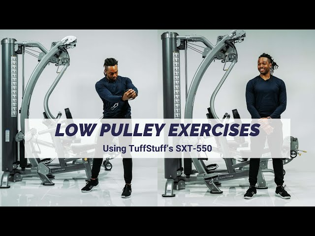 Low Pulley Exercises (SXT-550 Hybrid Home Gym)