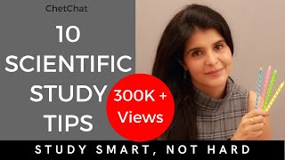 10 Best Scientific Study Tips | How to Study Effectively for School or College Exams | ChetChat