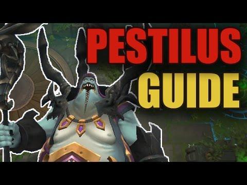 видео: battlerite - pestilus guide / Босоногий с мухами [patch 0.12]