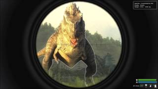 The Hunter:Primal -- 3 T-Rex Kill at Madame