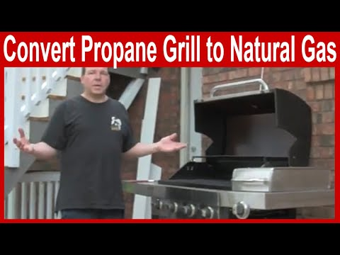 propane grill hookup house