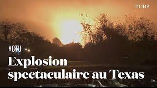 Explosion dans une usine pétrochimique à Port Neches, au Texas