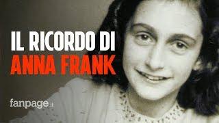 Il diario di Anna Frank simbolo del dolore di milioni di ebrei che vissero l'incubo della Shoah