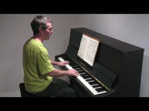 Bach 2 Part Inventions No.6  Paul Barton, piano