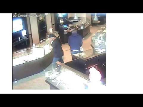 Schwarzchild Jewelers robbery video 01  (VIDEO: Richmond Police)