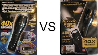 TacLIGHT vs Atomic Beam