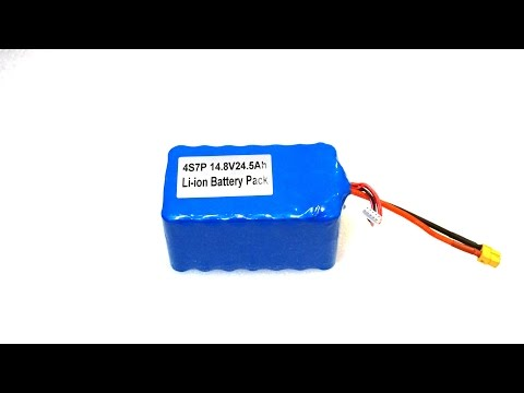 18650 Lithium Ion Battery Pack - Current Draw Calculations