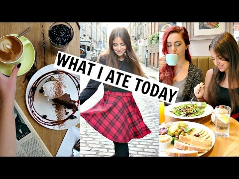 Scotland What I Ate/Did Today! Hiking Arthur's Seat + Ghost Tour