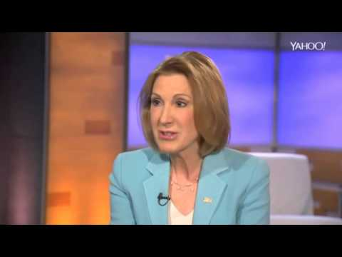 Carly Fiorina makes mincemeat of interviewer Katie Couric - Climate change