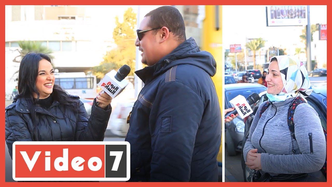صورة فيديو : سألنا الرجالة إيه رأيهم فى ظاهرة الكرش وهل هو جذاب ؟