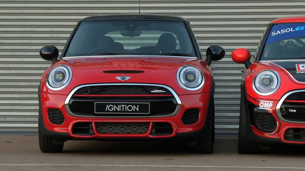 Mini John Cooper Works Road Car Vs Gtc Race Car Youtube