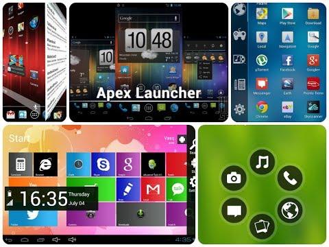Обзор пяти лаунчеров на Android. Чудеса да и Только! / Арстайл /