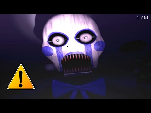 MONSTER PUPPET JUMPSCARE!! Five Nights at Candy's 3