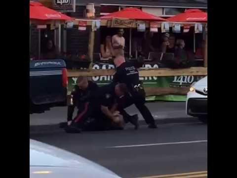 Police Brutality Calgary, Stampede 2016