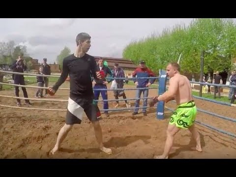 АДСКИЙ нокаут АВАРСКИЙ боец ММА против ЧЕЧЕНЦА (бои без правил)