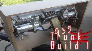 Focal Vip Infiniti G35 - Trunk Build Part 1