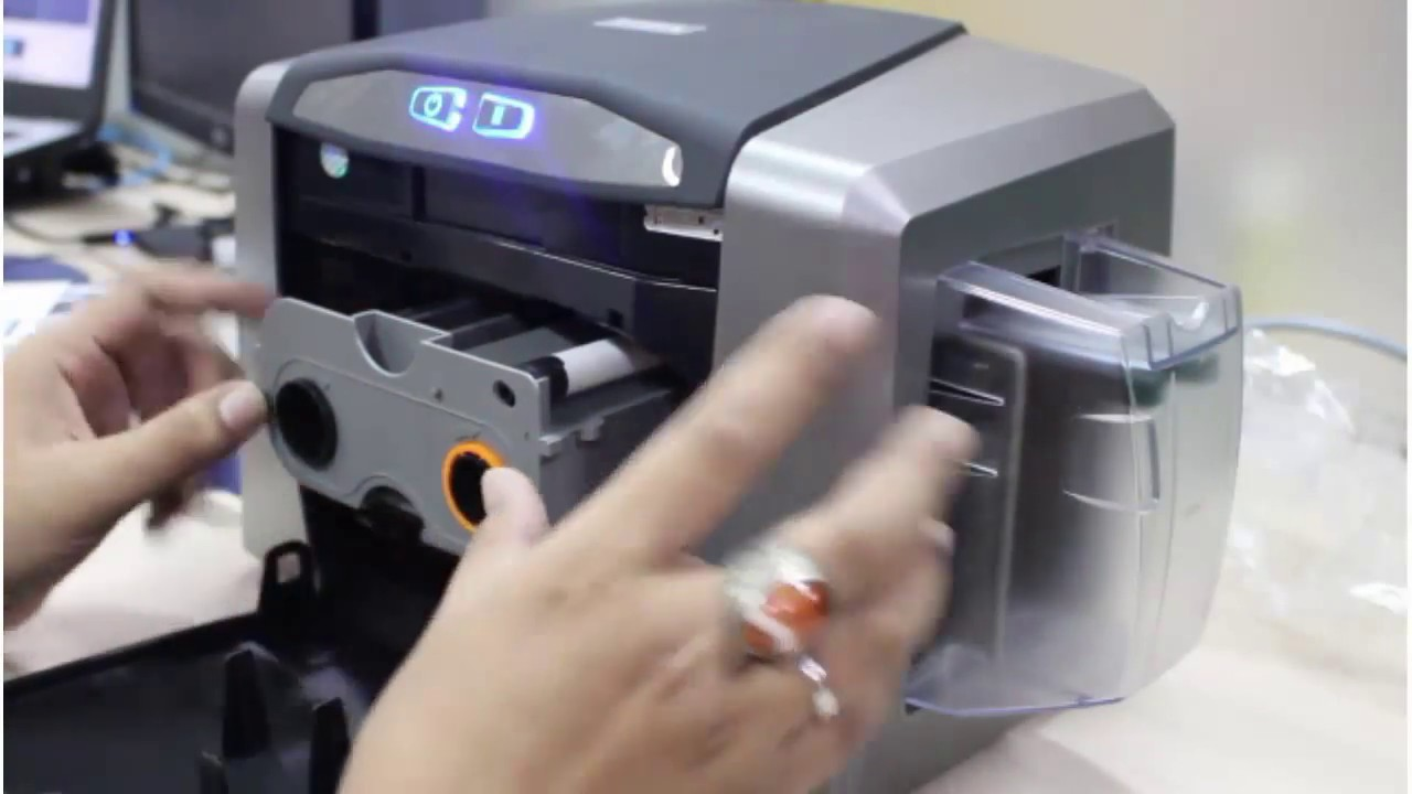 fargo id card printer drivers