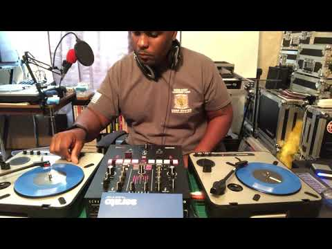 Numark Scratch Mixer & PT01 Turntables. DJ Shorty B in Just Tryin' Somethin'
