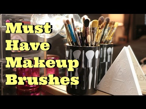 My Favorite Makeup Brushes for Eyes | Makeup Brush Collection