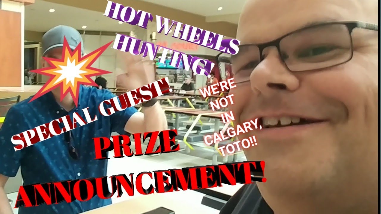 Prize Draw, Hot Wheels Hunting and a Special Guest