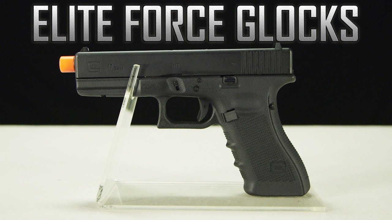 Elite Force GLOCK 17 Gen 4 Gas Blow Back Airsoft Pistol (Black)