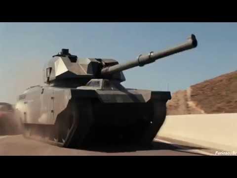 Parando o Tanque (Parte 1) Dublado - Velozes e Furiosos 6