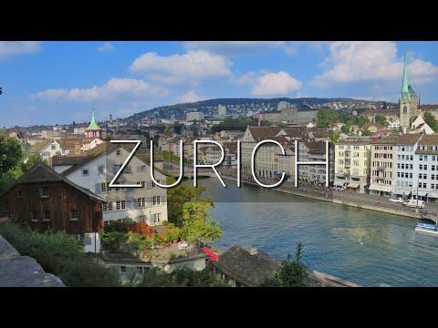 Vlog #37: Zürich, Switzerland    A DAY IN ZÜRICH