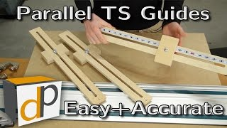 Quick Parallel Guides for your Track Saw - Simple & Accurate