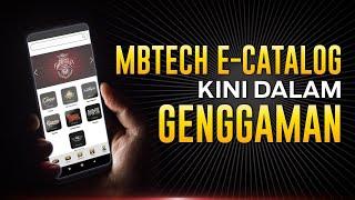 MBtech e-Catalog Kini Dalam Genggaman