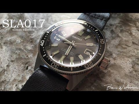 Seiko SLA017 - The Holy Grail of Modern Seiko Divers