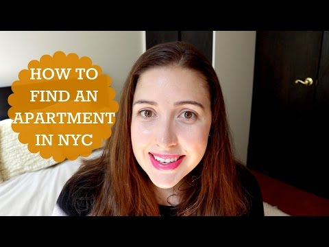 How To Find An Apartment In New York City!