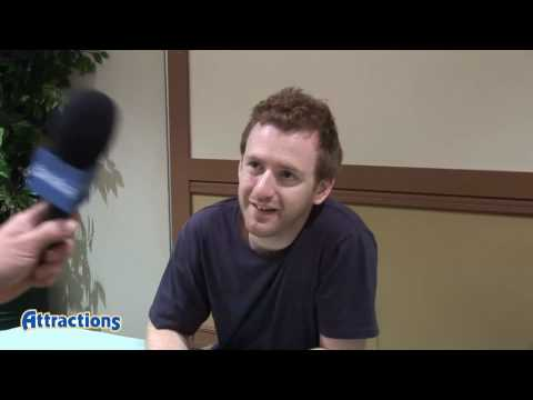 Actor Chris Rankin (Percy Weasley) talks about The Wizarding World of Harry Potter and fans