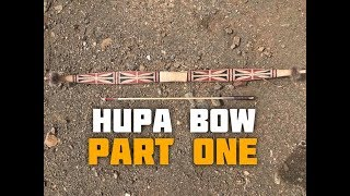 Hupa/Yurok Style Bow (Part 1 of 6)