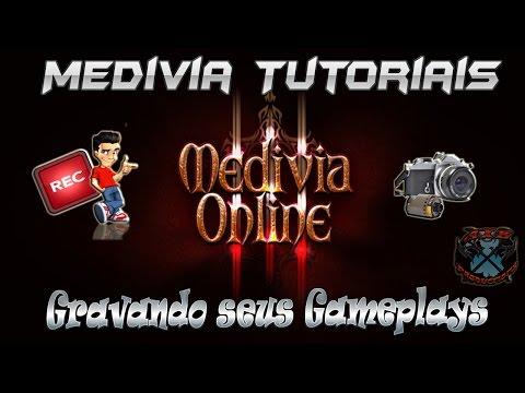 Medivia Tutoriais #6 - Como Gravar e Assistir CAMS no Medivia Online.